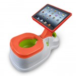 Grandma's View on I Pad Toilet Training