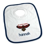 Personalized Bibs, Burp Cloths, and Blankets
