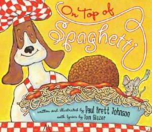 top of spaghetti