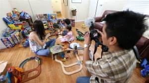 Playtime turned payday.  Parents make $1M from YouTube videos of kids playing with toys