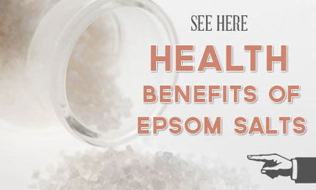 Epsom salt and colds