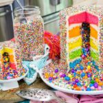 The Explosion Cake With A Special Surprise To Make For or With Grandchildren