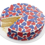 It Cannot Get Easier than A Fourth of July Red, White, and Blue Cake Made In Minutes For 2021 Celebration Finally With Family and Friends